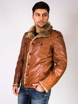 Куртки Berloga                                                                                                              коричневый цвет