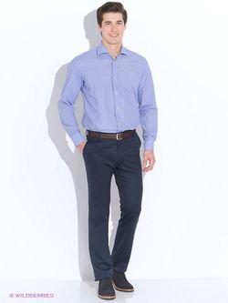 Рубашки MAURIZIO BALDASSARI                                                                                                              синий цвет