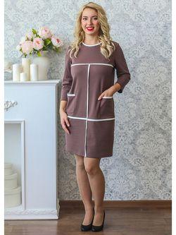 Платья Царевна                                                                                                              коричневый цвет
