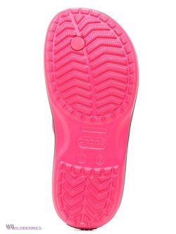 Пантолеты Crocs                                                                                                              розовый цвет