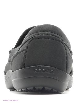 Мокасины Crocs                                                                                                              чёрный цвет