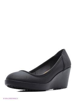 Туфли Crocs                                                                                                              черный цвет