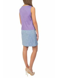 Платья Sarafan                                                                                                              фиолетовый цвет