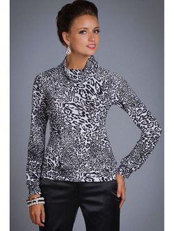 Блузки Арт-Деко                                                                                                              чёрный цвет
