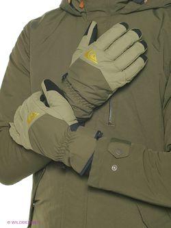 Перчатки Quiksilver                                                                                                              зелёный цвет