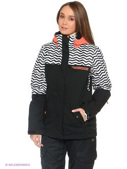 Куртки Roxy                                                                                                              чёрный цвет