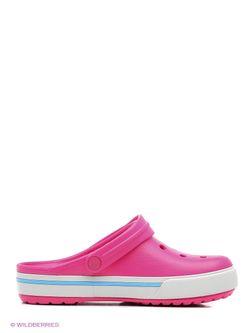 Сабо Crocs                                                                                                              розовый цвет