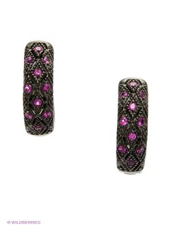 Ювелирные Серьги Happy Garnets                                                                                                              розовый цвет
