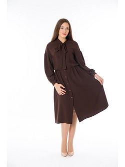 Платья Lautus                                                                                                              коричневый цвет