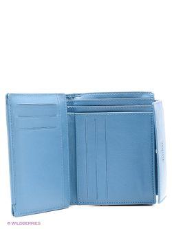 Портмоне Mano                                                                                                              голубой цвет