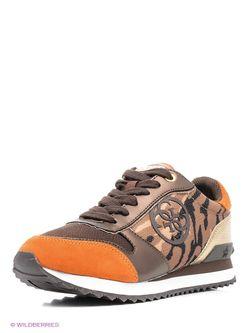 Кроссовки Guess                                                                                                              оранжевый цвет