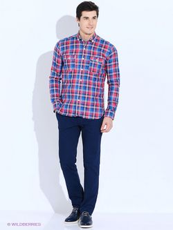 Рубашки Angelo Bonetti                                                                                                              синий цвет