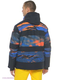Куртки Quiksilver                                                                                                              оранжевый цвет