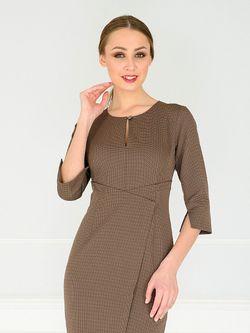 Платья KEY FASHION                                                                                                              коричневый цвет