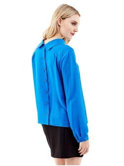 Блузки Guess                                                                                                              синий цвет