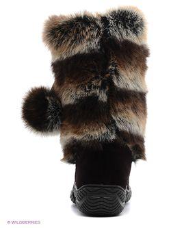 Унты 4U                                                                                                              коричневый цвет