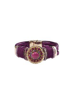 Браслеты Модные истории                                                                                                              фиолетовый цвет