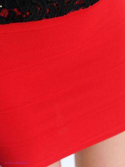 Юбки Oodji                                                                                                              красный цвет