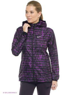 Ветровки Nike                                                                                                              фиолетовый цвет