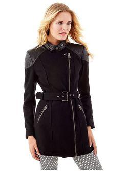 Пальто Guess                                                                                                              черный цвет