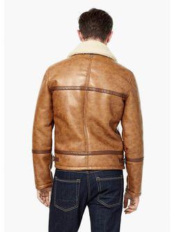 Куртки Mango Man                                                                                                              коричневый цвет