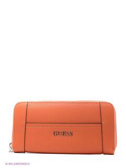 Кошельки Guess                                                                                                              оранжевый цвет