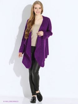 Кардиганы Guess                                                                                                              фиолетовый цвет