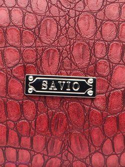 Сумки Savio                                                                                                              красный цвет