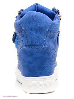 Сникеры Burlesque                                                                                                              голубой цвет
