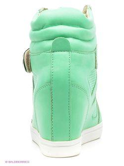 Сникеры Burlesque                                                                                                              зелёный цвет