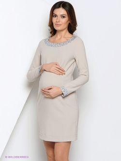 Платья MammySize                                                                                                              бежевый цвет