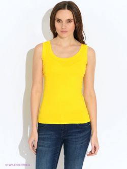 Топы Oodji                                                                                                              желтый цвет