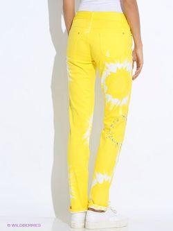 Брюки Oodji                                                                                                              желтый цвет