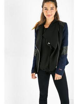 Куртки Desigual                                                                                                              синий цвет