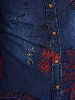 Блузки Desigual                                                                                                              синий цвет