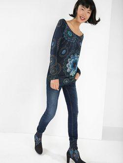 Пуловеры Desigual                                                                                                              синий цвет