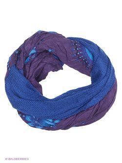 Шарфы Desigual                                                                                                              синий цвет