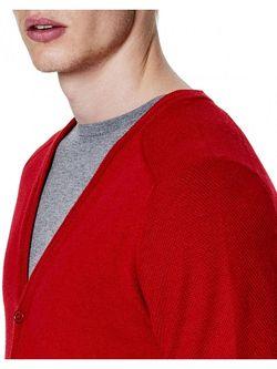 Кардиганы United Colors Of Benetton                                                                                                              красный цвет