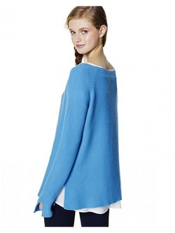 Джемперы United Colors Of Benetton                                                                                                              голубой цвет