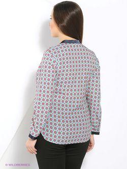 Блузки Balsako                                                                                                              Бирюзовый цвет