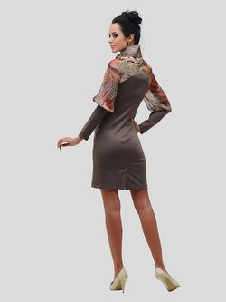 Платья DuckyStyle                                                                                                              коричневый цвет