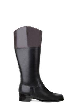 Сапоги Ecco                                                                                                              чёрный цвет