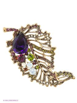 Броши Lovely Jewelry                                                                                                              Золотистый цвет