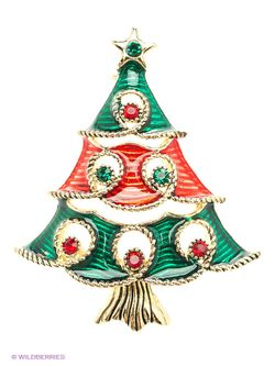 Броши Lovely Jewelry                                                                                                              зелёный цвет