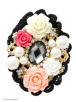 Броши Lovely Jewelry                                                                                                              чёрный цвет