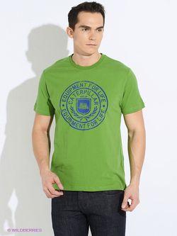 Футболки Caterpillar                                                                                                              зелёный цвет