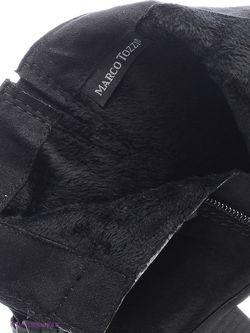 Полусапожки Marco Tozzi                                                                                                              чёрный цвет