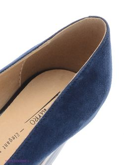 Туфли Marko                                                                                                              синий цвет