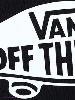 Футболка Vans                                                                                                              чёрный цвет
