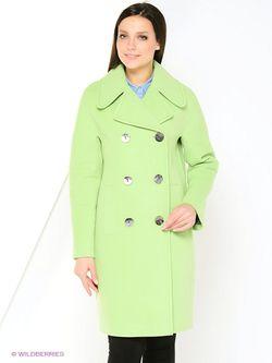 Пальто FORTUNA                                                                                                              зелёный цвет